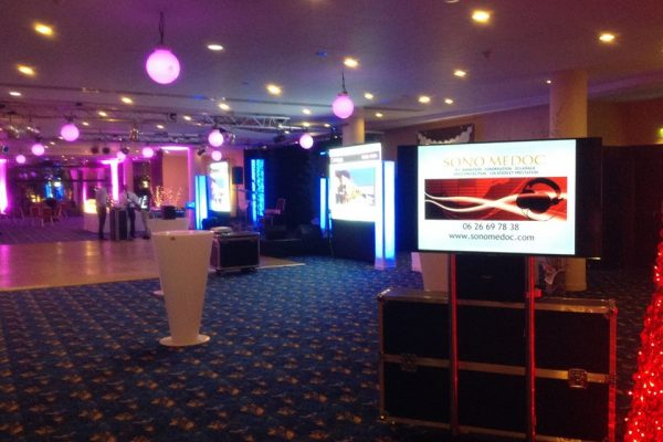Casino barrière Bordeaux - soirée la salle des étoiles