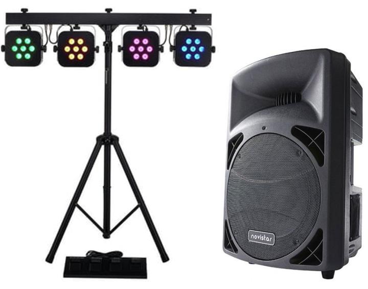 Pack -Son - et - lumières - 1000 - watts
