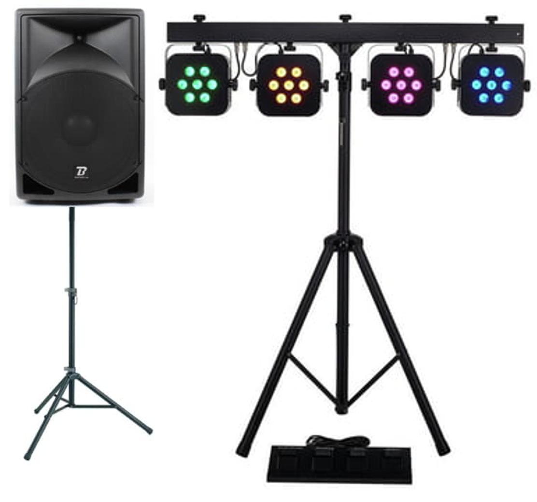 Pack -Son - et - lumières - 600 - watts